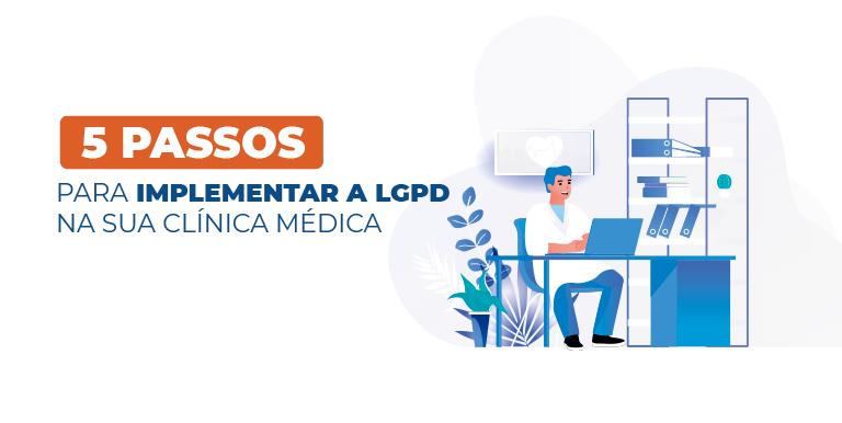 5 passo para implementar a LGPD